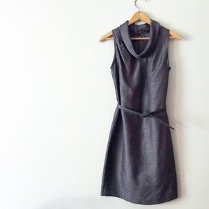 The Limited Retro Style Cowl Neck Dress